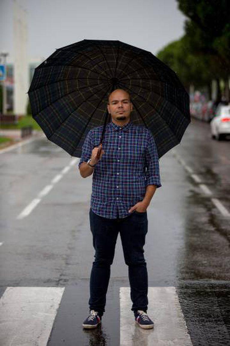 Miguel Romero, venezuelano residente na Espanha.