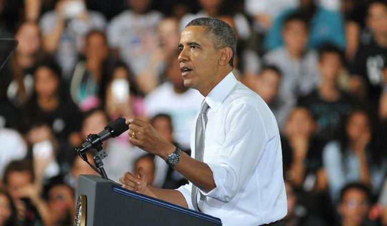 O presidente dos EUA, Barack Obama.