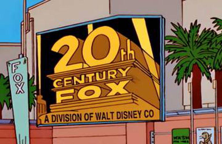 Fotograma do capítulo de 'Os Simpson' no que caçoaram com a compra, em 1998.