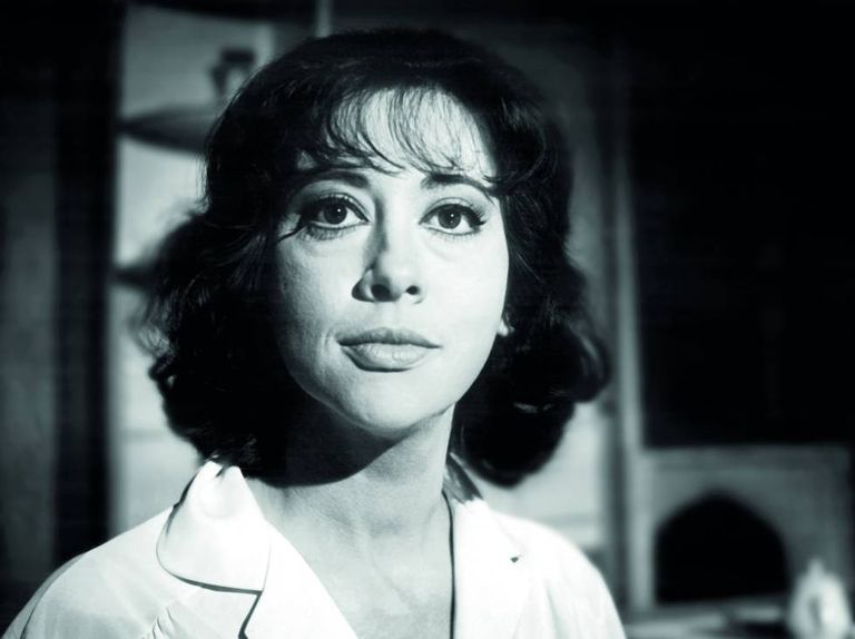 Fernanda Montenegro na novela da TV Record 'A Morta Sem Espelho', em 1963.