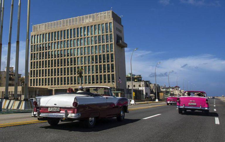 Embaixada dos EUA em Havana.