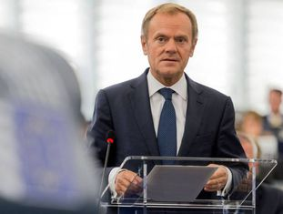 Donald Tusk, presidente do Conselho Europeu