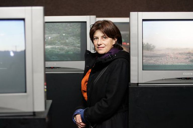 Chantal Akerman, em Madri em 2005.