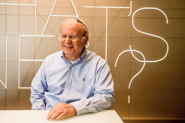Elie Horn, fundador da Cyrela, na sexta-feira passada, durante entrevista ao EL PAÍS.